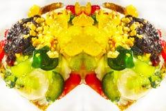 Waffle sweet background unit. Isolate vector illustration