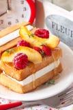 Waffle. Stock Photo