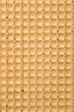 Waffle texture Stock Photography