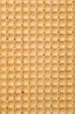 Waffle texture Stock Photography
