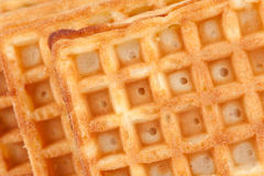 Waffle texture Stock Photos