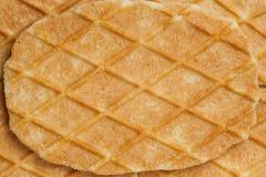 Waffle texture Royalty Free Stock Image