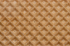 Waffle texture diagonal Royalty Free Stock Images