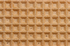 Waffle texture straight Royalty Free Stock Photos