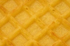 Waffle time. Good morning breakfast waffles shot close-up detail Royalty Free Stock Images