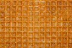 Waffle yellow background Royalty Free Stock Photo