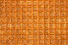 Waffle yellow background for design Royalty Free Stock Image