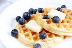 waffles голубик Стоковые Фотографии RF