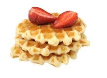waffles клубник Стоковое Изображение RF
