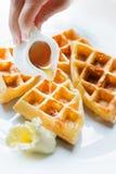 waffles меда Стоковые Фото