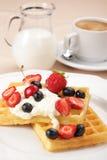 waffles плодоовощей Стоковые Фото