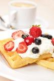 waffles плодоовощей Стоковое Изображение RF