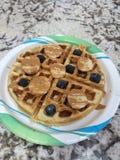 Waffles протеина Стоковые Изображения