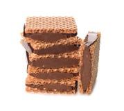 Waffles шоколада Стоковые Изображения RF