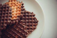 Waffles шоколада Стоковое фото RF