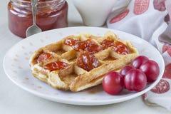 waffles Fotografia de Stock Royalty Free