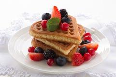 Waffles. Стоковое фото RF