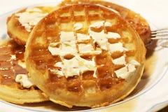 Waffles Stock Photography