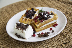 Free Waffles Stock Photos - 54407103