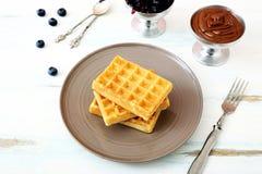 Free Waffles Royalty Free Stock Photo - 70315585