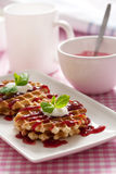 Waffles Royalty Free Stock Photography