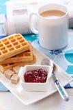 Waffles Stock Image