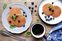 Waffles Royalty Free Stock Photos