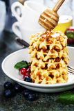 Waffles Royalty Free Stock Photography