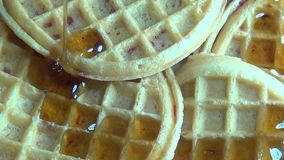 Waffles, Breakfast Foods Royalty Free Stock Image