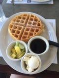 Waffles Royalty Free Stock Photo