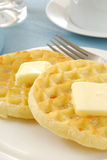 Waffles Close Up Stock Image