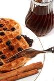Waffles de Bélgica Foto de Stock Royalty Free