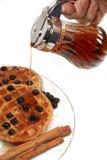 Waffles de Bélgica imagem de stock