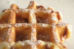 Waffles de Liège images libres de droits