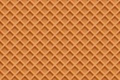 Waffles, fundo sem emenda do vetor da textura Imagens de Stock