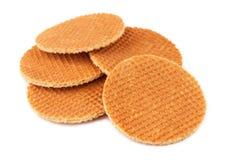 Waffles holandeses Imagens de Stock