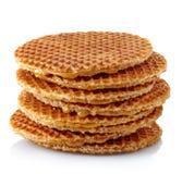 Waffles holandeses fotos de stock
