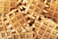 Waffles inteiros da grão imagens de stock