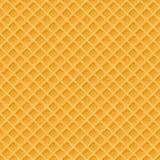 Waffles le modèle sans couture de vecteur Nourriture douce et délicieuse Illustration de vecteur Photographie stock libre de droits