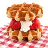 waffles li ge Стоковое Изображение RF