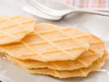 Waffles Plätzchen Stockfotografie