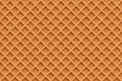 Waffles, seamless texture vector background Stock Images