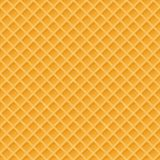 Waffles seamless vector pattern. Sweet and delicious food. Vector Illustration Royalty Free Stock Photography