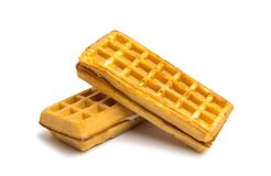 waffles stuffing isolated Stock Photos