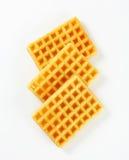 Waffles torrados Fotografia de Stock