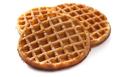 Waffles on White Stock Image