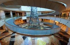 Wafi购物中心的内部在迪拜 免版税库存照片