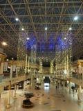 Wafi购物中心在迪拜,阿拉伯联合酋长国 库存照片