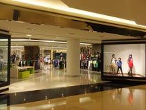 Wafi购物中心在迪拜,阿拉伯联合酋长国 图库摄影