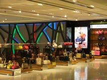 Wafi购物中心在迪拜,阿拉伯联合酋长国 免版税库存照片